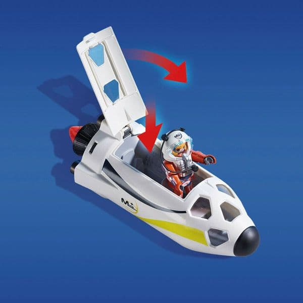 PLAYMOBIL Space Mars Mission Rocket with Launch Site - Model 9488